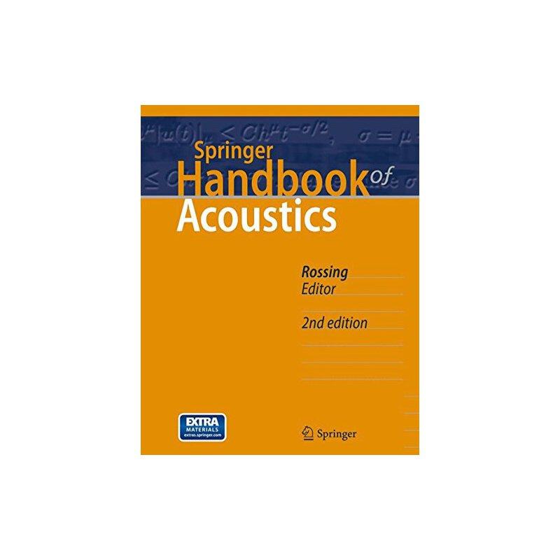 【预订】Springer Handbook of Acoustics 9781493907540 美国库房发货,通常付款后3-5周到货!