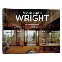 弗兰克劳埃德莱特建筑设计作品图书籍 伟大的建筑设计师 Frank Lloyd Wright 建筑大师作品收录画册