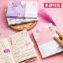 樱花系列笔记本手账本大学生小清新创意韩国文具厚小记事本笔记本