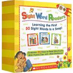 Sight Word Readers Boxed Set 高频词 常见字 儿童英文绘本 25册套装 视觉词读本
