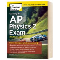 破解AP物理学2考试2020版 英文原版 Princeton Review Cracking the AP Physi