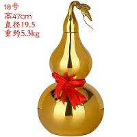 胡芦铜葫芦摆件葫芦挂件八卦铜葫芦开口葫芦