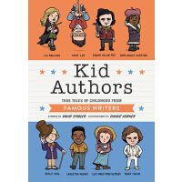 【现货】英文原版 作家小时候的故事 Kid Authors (Kid Legends) 全彩单本精装 名人传记 J.K