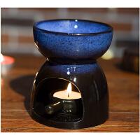 熏香灯精油炉香薰灯精油灯陶瓷香薰炉送蜡烛精油蜡烛托