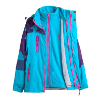 儿童冲锋衣三合一可拆卸女童外套中大童秋冬装上衣