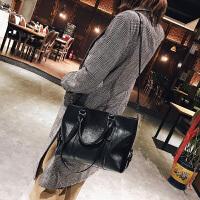 单肩斜挎包女士大包包新款复古时尚简约百搭韩版大容量手提包 默认6