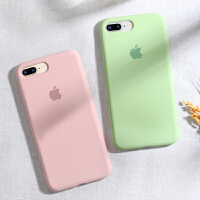 iPhone7手机壳液态硅胶X苹果8Plus全包6/6s/7/Plus防摔7P软壳超薄Xr磨砂XsM