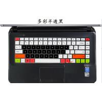 envy4 envy6 HP1000 M4笔记本键盘膜G4 DV4 Sleek14保护贴膜 多彩