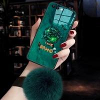 小米note3手机壳mct8套小迷nete3玻璃xiaomin3个性 ins风祖母绿mce8女冬MI