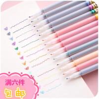 点石水彩笔韩国可爱创意简约小清新多色彩色水性笔学生用