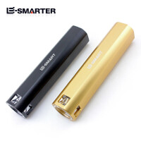 移动电源LED直筒迷你手电户外强光可充电手电筒