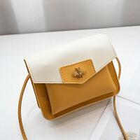 19新款搭配可爱迷你小蜜蜂女士小方时尚潮流单肩斜挎手机包1305