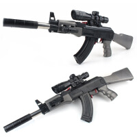 手动下供ak47仿真cs儿童玩具枪可发射 男孩10-12岁