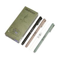 爱好韩国中性笔0.5小清新可爱签字笔学生用品黑蓝色0.35mm笔芯签字水性笔红笔办公文具批发