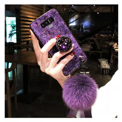 三星note9手机壳Sam sung保护套盖乐世创意neto9防摔6.4寸英寸男女net新款闹特9保 三星 note9-紫色