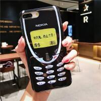 诺基亚手机壳复古创意恶搞苹果iphonexsma7plus8p6手机壳全包软套 6/6s 4.7 IMD诺基亚