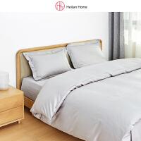 海澜优选1.8米灰色长绒棉床单四件套