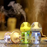 奶瓶汽车加湿器 车用空气净化器车载加湿器喷雾迷你车内除味