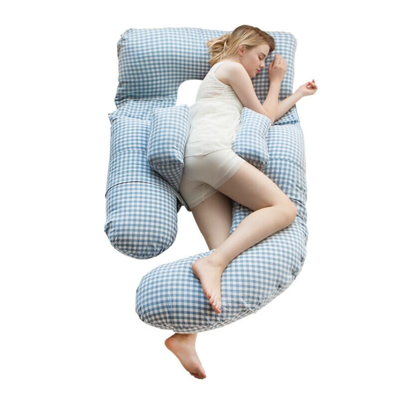 u型枕孕妇用品睡觉侧卧枕孕 孕妇枕头护腰侧睡枕托腹抱枕