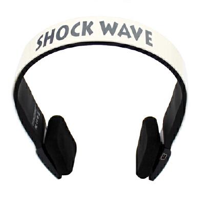 shockwave冲击波 SHB-901BH 蓝牙置麦可通话 有线无线双用耳机  纯洁白头戴式HiFi立体声内置麦可通话