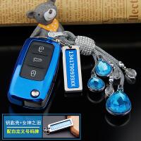 适用于大众汽车钥匙扣帕萨特朗逸高尔夫6速腾POLO途观钥匙包套壳