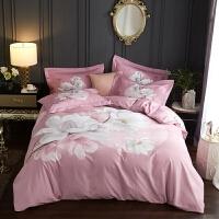 加厚保暖磨毛四件套全棉纯棉床上用品秋冬季床单被套简约家纺