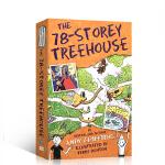 【顺丰速运】英文原版The 78-Storey Treehouse 小屁孩树屋历险记 78层 小学生英语课外阅读提升