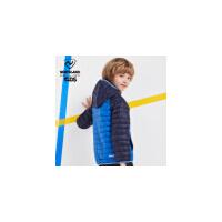 诺诗兰童装男童羽绒服轻薄款冬装儿童新款羽绒外套女童保暖舒适