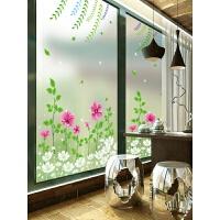 家居生活用品静电磨砂玻璃贴膜透光不透明窗户贴纸 浴室卫生间阳台窗花贴遮光 磨砂静电玻璃贴(按平方计价