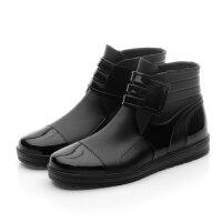 雨鞋男防水鞋套秋季低帮短筒雨靴时尚防滑加厚耐磨厨房工作鞋