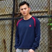 匹克休闲运动卫衣套头外套长袖男装T恤青少学生保暖潮衣服F663011