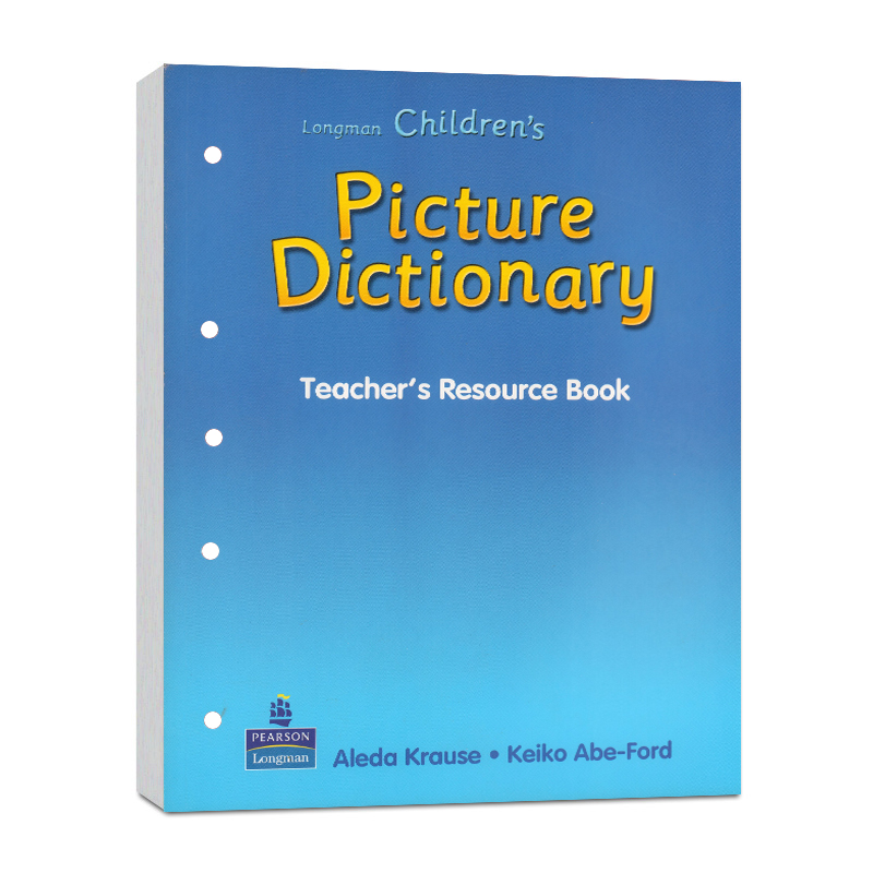 彩图词典英文原版朗文少儿英语彩图词典活动资源手册(6-12岁) poster电子版资源