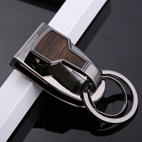 2018新款穿皮带钥匙扣 男腰挂金属单扣腰带钥匙挂件不锈钢圈汽车钥匙挂扣