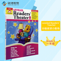 Leveled Readers' Theater Grade 1 分级阅读小剧场 一年级 英文原版美国加州教辅Evan-