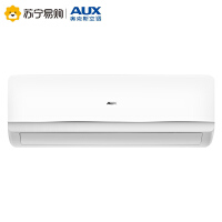 【苏宁易购】AUX/奥克斯空调 大1.5匹变频冷暖静音挂机空调 KFR-35GW/BpNFW+3