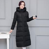 女冬装新款外套韩版棉衣中长款大码过膝羽绒棉袄修身加厚