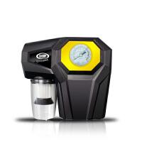 四合一车载充气泵车用吸尘器照明测压大功率多功能汽车轮胎打气泵 汽车用品 【指针版】四合一
