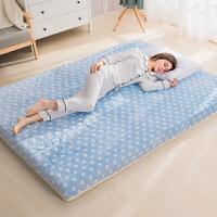 记忆棉床垫 床褥加厚1.5米双人1.8m榻榻米海绵垫被打地铺睡垫褥子 180*200cm 加大双人床