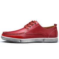 休闲皮鞋男2018新款男鞋秋季板鞋韩版潮流男士休闲鞋英伦百搭鞋子