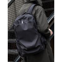 HK时尚潮流双肩包男简约书包休闲电脑包旅行轻便高中生大学生背包