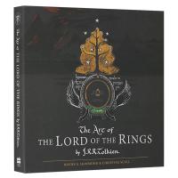 指环王60周年纪念版 英文原版 The Art of the Lord of the Rings 托尔金手稿 英文版艺