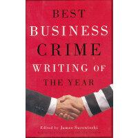 BEST BUSINESS CRIME WRITING(ISBN=9781400033713) 英文原版
