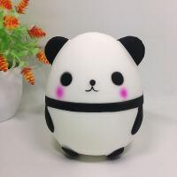 慢回弹熊猫蛋仿真*玩偶公仔玩具熊猫摆件 14cm*11.5cm