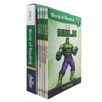 英文原版 World of Reading Avengers Boxed Set