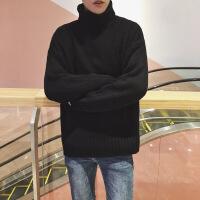 №【2019新款】小伙子穿的高�I毛衣男士�n版潮流情�H原宿�L��松��衫外套男秋冬�b2018新款