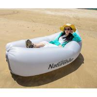 沙滩床充气沙发床口袋沙发快速冲气垫沙滩充气床户外便携式懒人空气沙发