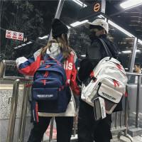 背包女双肩包书包男 女高中学生韩版旅行休闲背包时尚潮流大容量