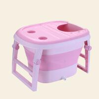 加大加厚同款可折叠婴儿浴盆宝宝洗澡桶儿童多功能沐浴桶浴桶