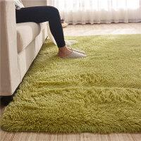 ???北欧丝毛客厅沙发茶几地毯卧室可爱房间床边毯满铺榻榻米定制地垫