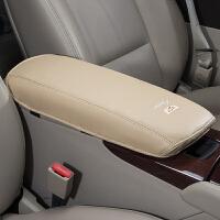 凯迪拉克扶手箱套XTS XT5 ATSL CT6改装内饰汽车扶手箱套保护垫